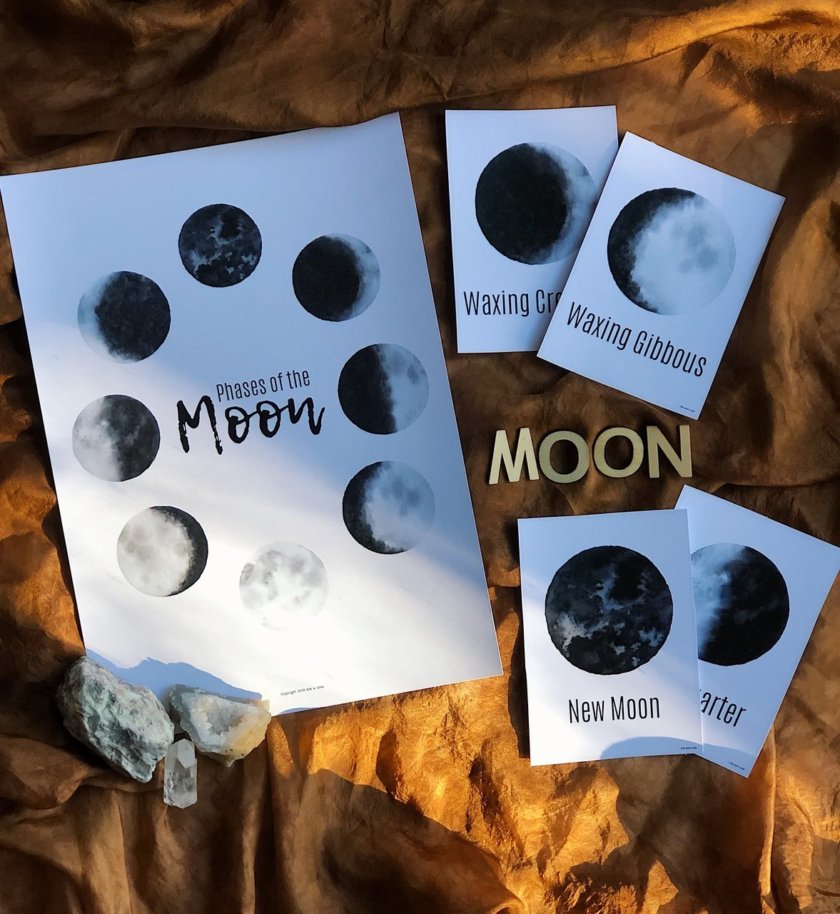 The Phases of the Moon - Digital Download