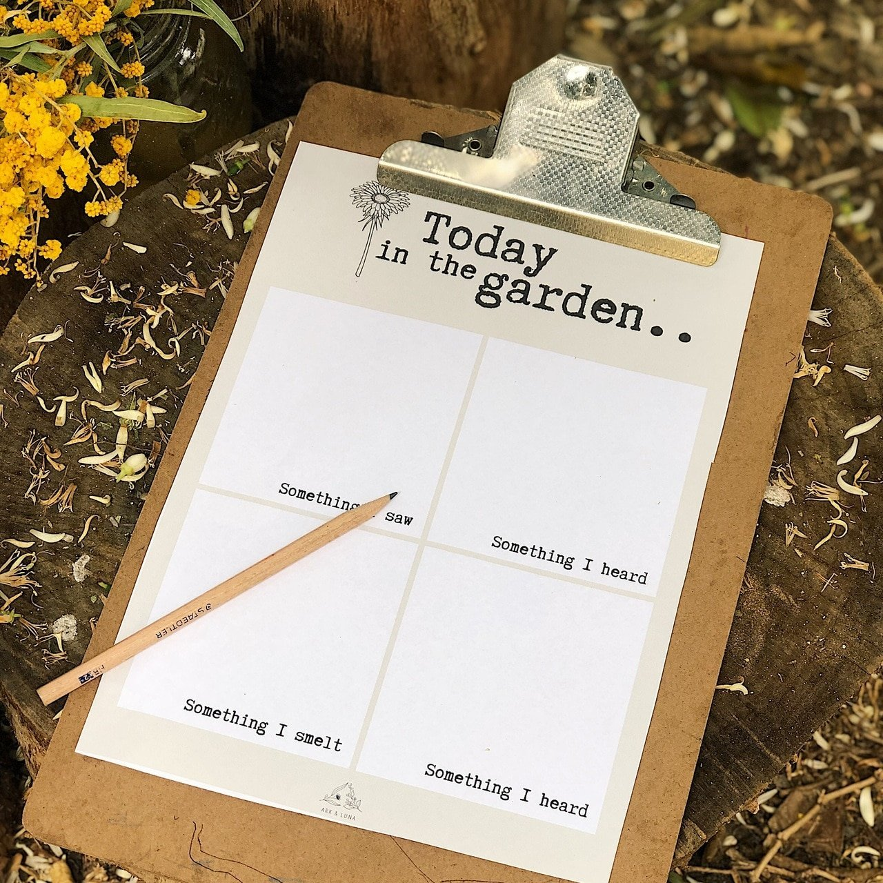 Mindful Garden Journal - Digital Download